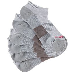 Copper Fit Womens 5-pk. Heathered Sport Ankle Socks