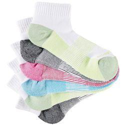 Copper Fit Womens 5-pk. Quarter Length Sport Socks