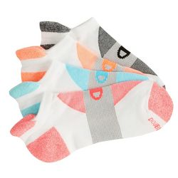 Womens 4-pk. Heel Shield Socks