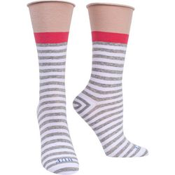Hue Womens Heathered Mid-Calf Socks
