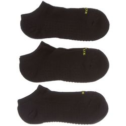 Hue Womens 3-pk. Air Cushion Sport Ankle Socks