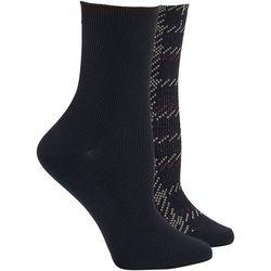 Hue Womens 2 Pc. Winter Soft Crop Boot  Socks