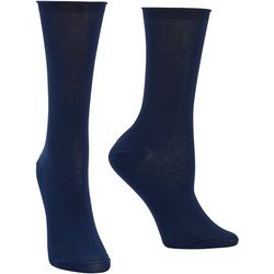 Hue Womens Superlight Cotton Crew Socks