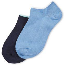 Hue Womens 2-pk. Multi Modal Sneaker Socks