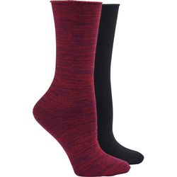 Hue Womens 2-pc. Rolltop Boot Socks