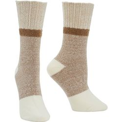 Hue Womens Soft Marled Boot Socks