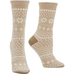 Hue Womens Fairisle Boot Socks