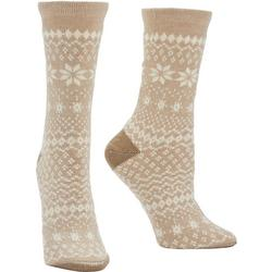 Womens Fairisle Boot Socks