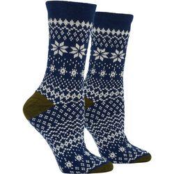 Hue Womens Fairisle Boot Socks