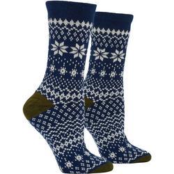 Womens Fairisle Boot Socks