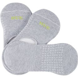 Hue 3-pk. Air Cushion Liner Socks