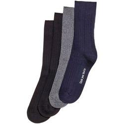 Hue Womens 4-pk. Ribbed Dress Socks
