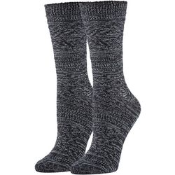 Hue Womens Supersoft Diamond Boot Socks