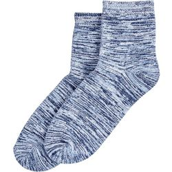 Hue Womens Space Dyed Supersoft Cropped Socks