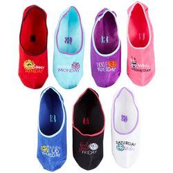 Hue Womens 7-pk. Socks of the Day Emoji Liner Socks