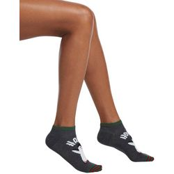 Hue Womens Penguin Holiday Footsie Socks
