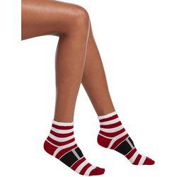 Hue Womens Naughty & Nice Footsie Socks