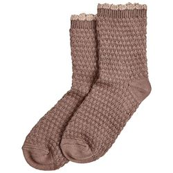 d0ade980e Hue Womens Supersoft Quilted Boot Socks