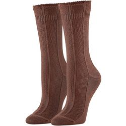 Hue Womens Supersoft Pebblestitch Boot Socks