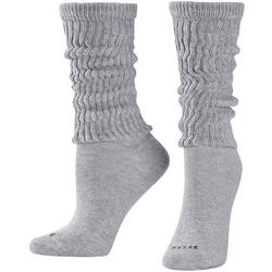 Womens Solid Slouch Socks