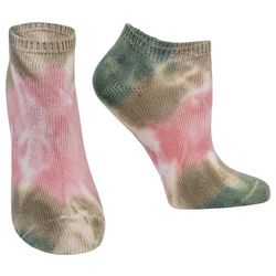 Hue Womens  Tie Dye Super Soft Liner Socks