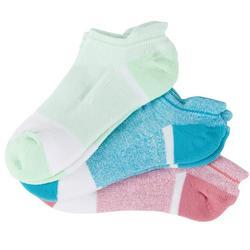 Women's 3-Pk. Anti-Slip Heel Socks