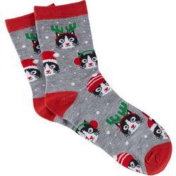 Brighten the Season Womens Holiday Claws Socks