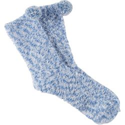 Cuddle Sox Womens Pompom Cozy Socks