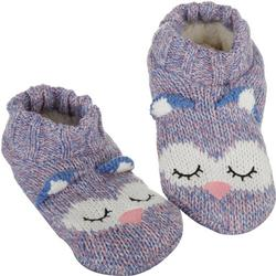 Womens Sleepy Owl Slipper Socks