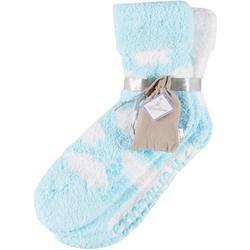 Womens 2-pk. Cloud Lavender Infused Chenille Socks