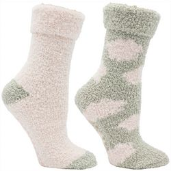 Minx NY Womens 2-pk. Cloud Lavender Infused Chenille Socks