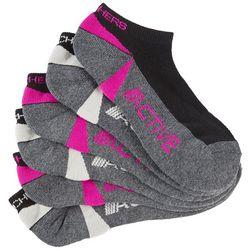 Skechers Womens 6-pk. Low Cut Active Wicking Socks