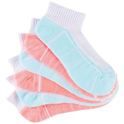 Skechers Womens 6-pk. Quarter Crew Athletic Socks