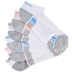 Skechers Womens 6-pk. Low Cut Active Mesh Socks
