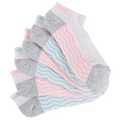 Skechers Womens 6-pk. Active Zigzag Low Cut Socks