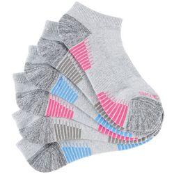 Skechers Womens 6-pk. Breathable Active Stipe Low Cut Socks