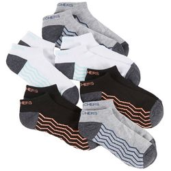 Skechers Womens 6-pk. Chevron Active Low Cut Socks
