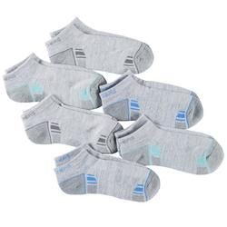 Womens 6-pk. Colorblock Active Low Cut Socks