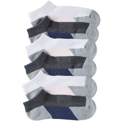 Skechers Womens 6-pk. Active Mesh Heathered Low Cut Socks