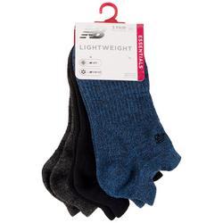 Womens 3-Pk. Lightweight No-Show Socks