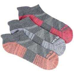 Womens 3-pk. Performance Cushioned Low Cut Socks