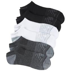 Womens 6-pk. Flatknit No Show Socks
