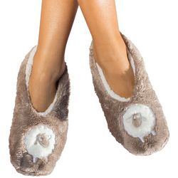 Faceplant Dreams Womens Sheep Footsie Slippers