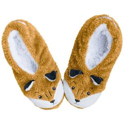 Faceplant Dreams Womens Fox Footsie Slippers