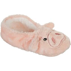 Faceplant Dreams Womens Piggy Footsie Slippers