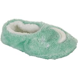 Faceplant Dreams Womens Moon Footsie Slippers