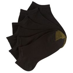 Gold Toe Womens 6-pk. Ultra Soft Ribbed Liner Socks