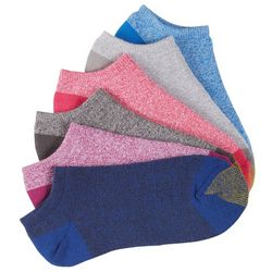 Gold Toe Womens 6-pk Marled Knit Ultra Lite