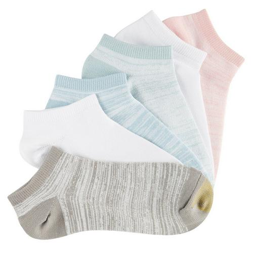 Gold Toe Womens 6 Pk Ultra Lite Soft Liner Socks