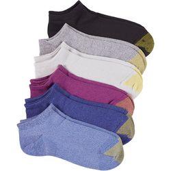 Gold Toe Womens 6-pk. Heathered Ultra Soft Liner Socks